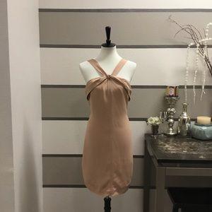 Banana Republic-Nude Cocktail Dress
